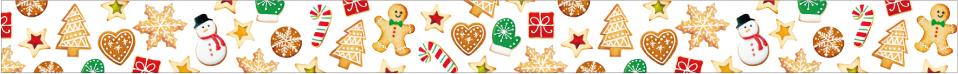 クリスマスクッキー (15mm)