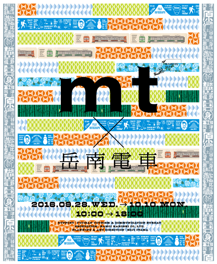 mt×岳南電車!