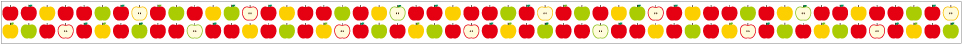 apple pattern (15mm×10m)