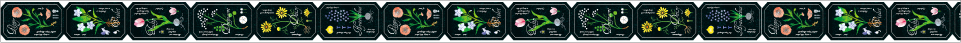 flower label(15mm×7m)