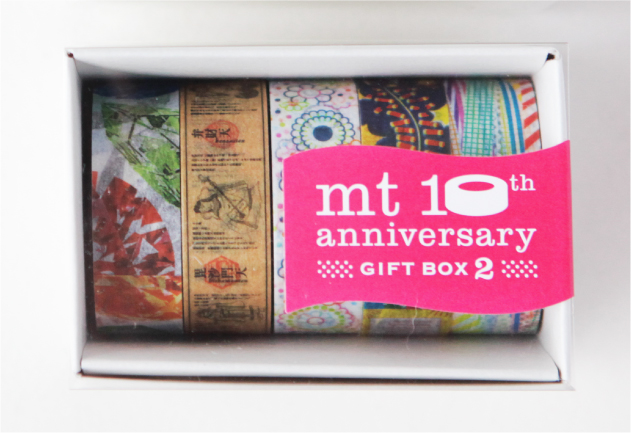 mt GIFT BOX 10th Anniversary GIFT BOX ver.2