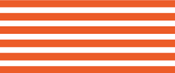 ボーダー・ブライトオレンジ