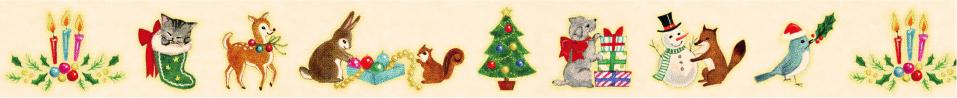 動物たちのクリスマス(20mm)