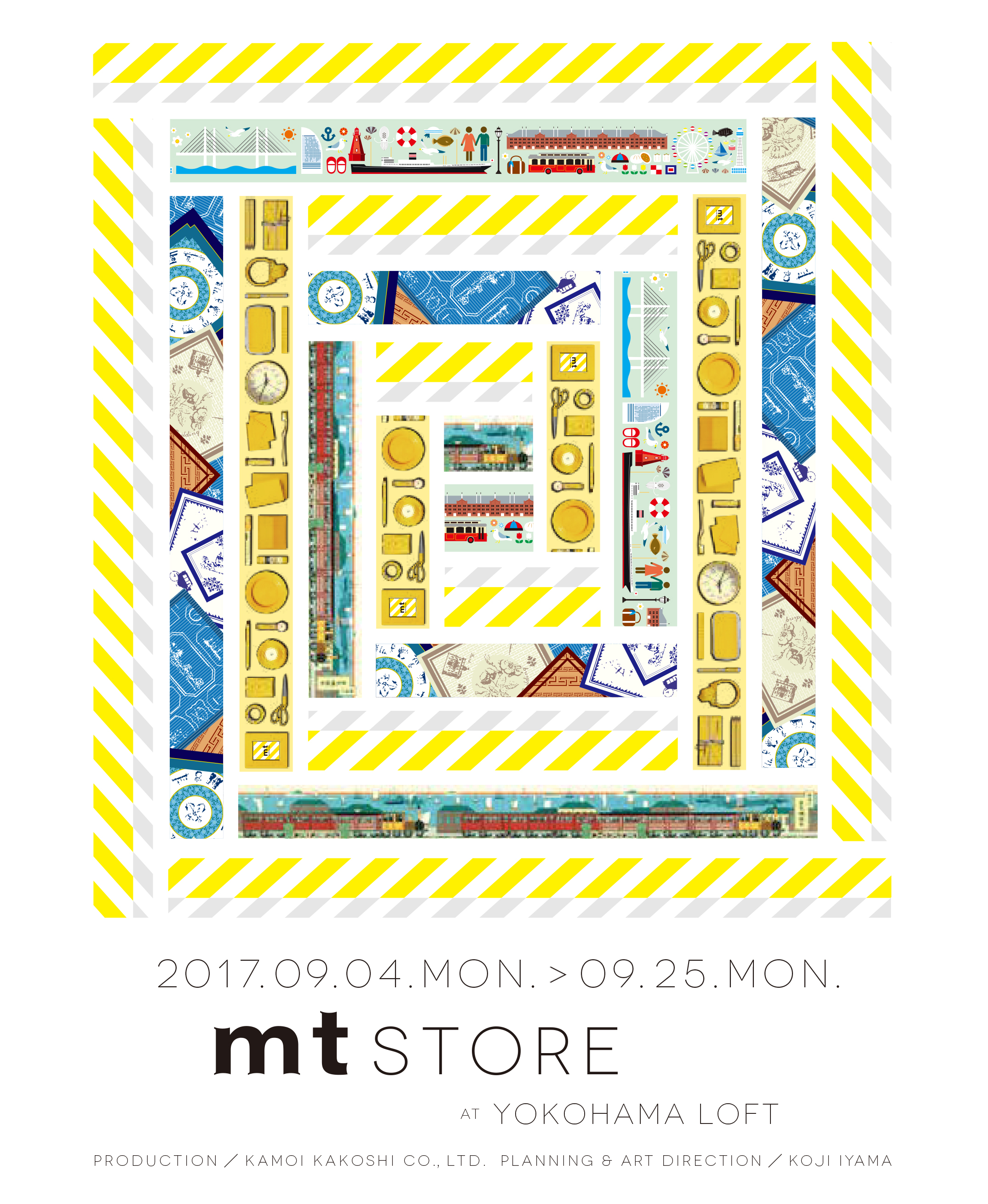 mt STORE at YOKOHAMA LOFT