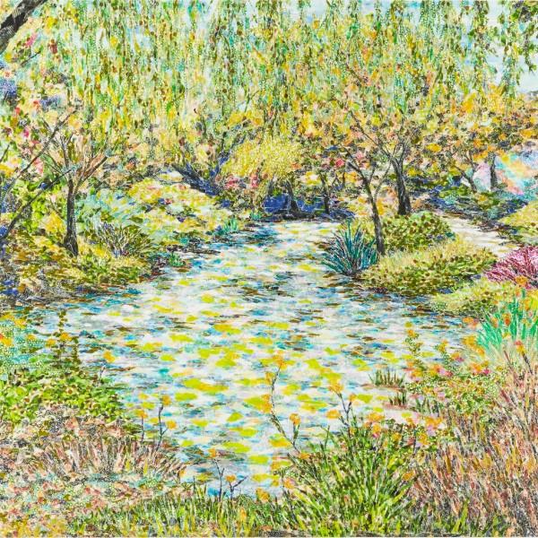 Garden:Waterlily pond 葉 思辰
