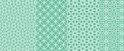 line pattern green