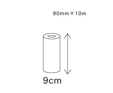 共有两种尺寸宽100㎜×长10m/卷宽150㎜×长10m/卷