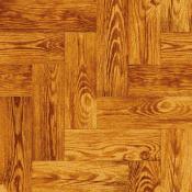 茶色い木床